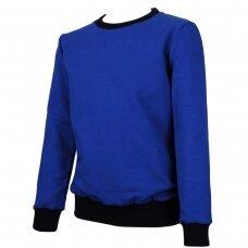 MAMAJUM mėlynas džemperis 98-146 cm