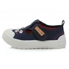 Mėlyni canvas batai 20-25 d. CSG137B