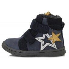 Tamsiai mėlyni batai su pašiltinimu  22-27 d. DA031373B