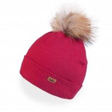 TuTu kepurė su natūraliu bumbulu