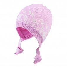 TuTu merino vilnos kepurė su raišteliais
