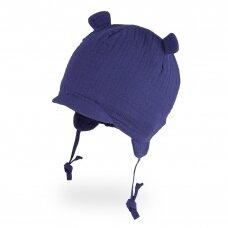 TuTu organinės medvilnės kepurė Ausytės